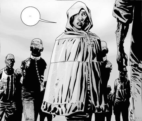 ウォーキングデッド コミック19話で初登場したミショーン