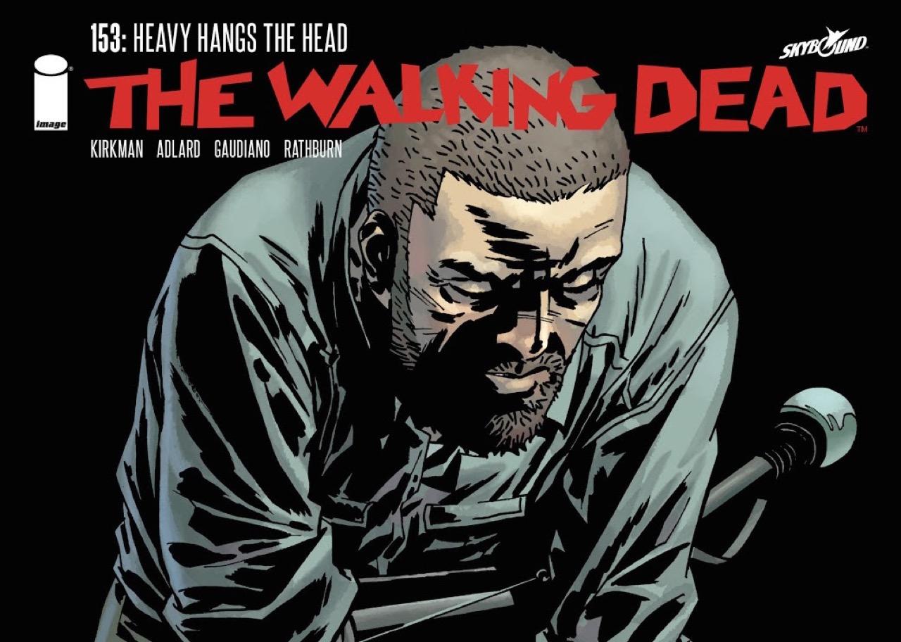 ウォーキング・デッド コミック 153話 表紙のリック