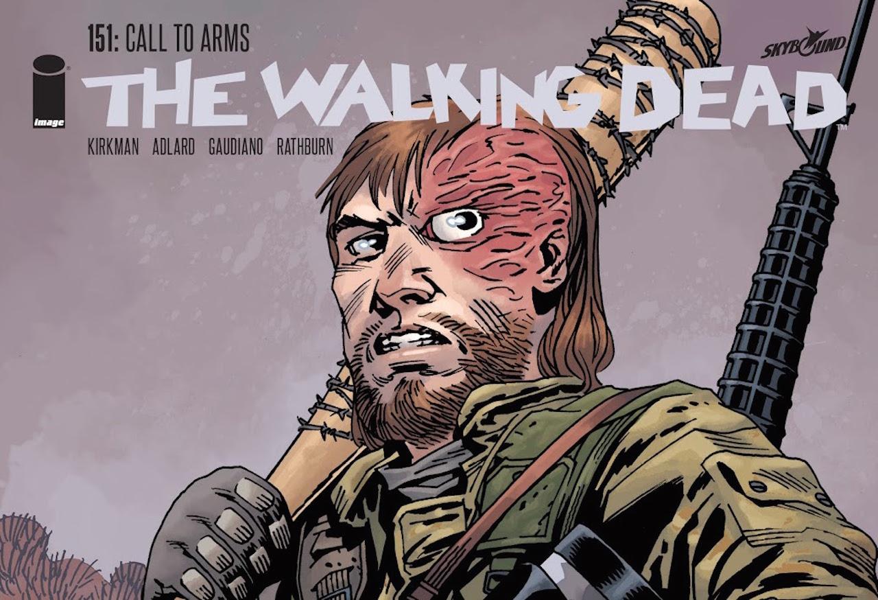ウォーキングデッド コミック 151話 表紙のDwight