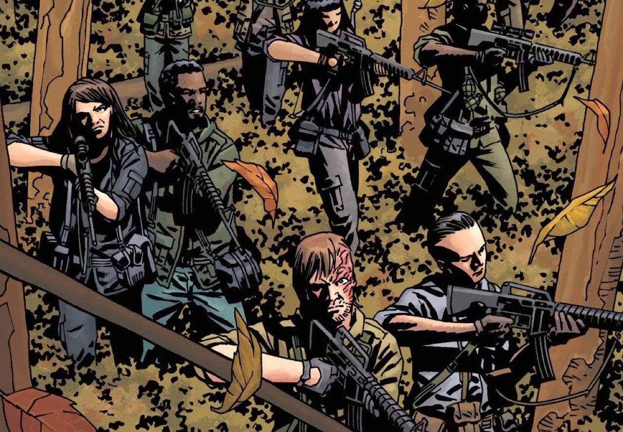 ウォーキングデッド コミック 155話 表紙