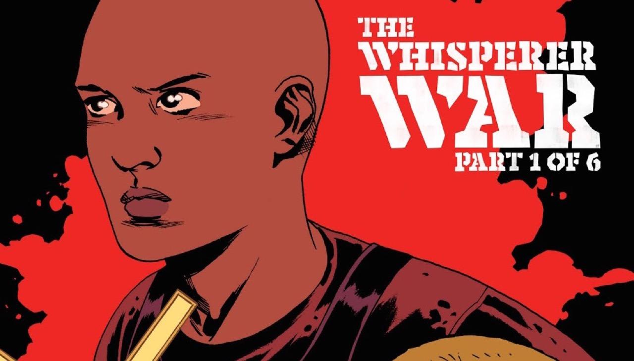 ウォーキングデッド コミック 157話 表紙のアルファ