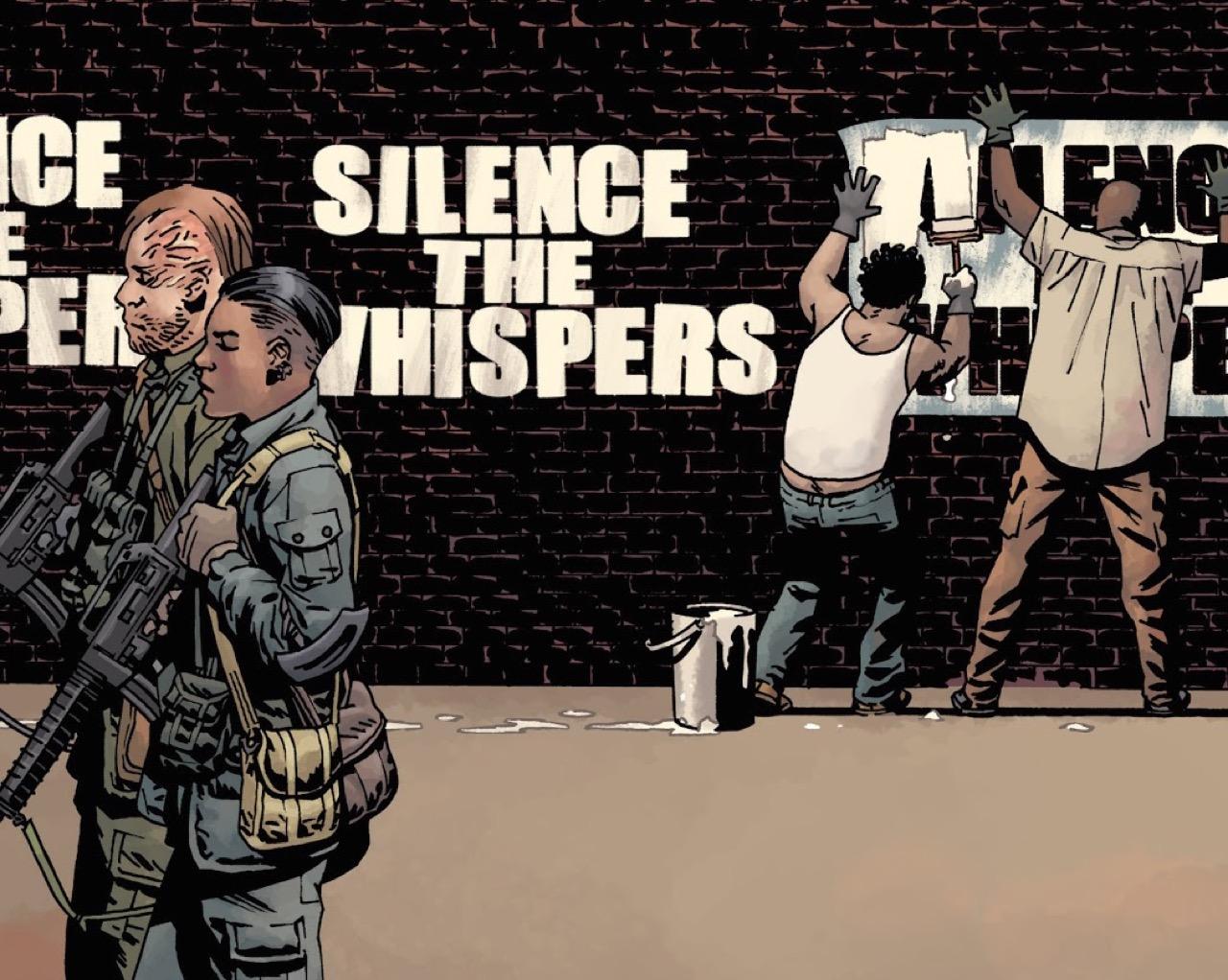 ウォーキングデッド・コミック 152話 「恐怖下の団結」表紙