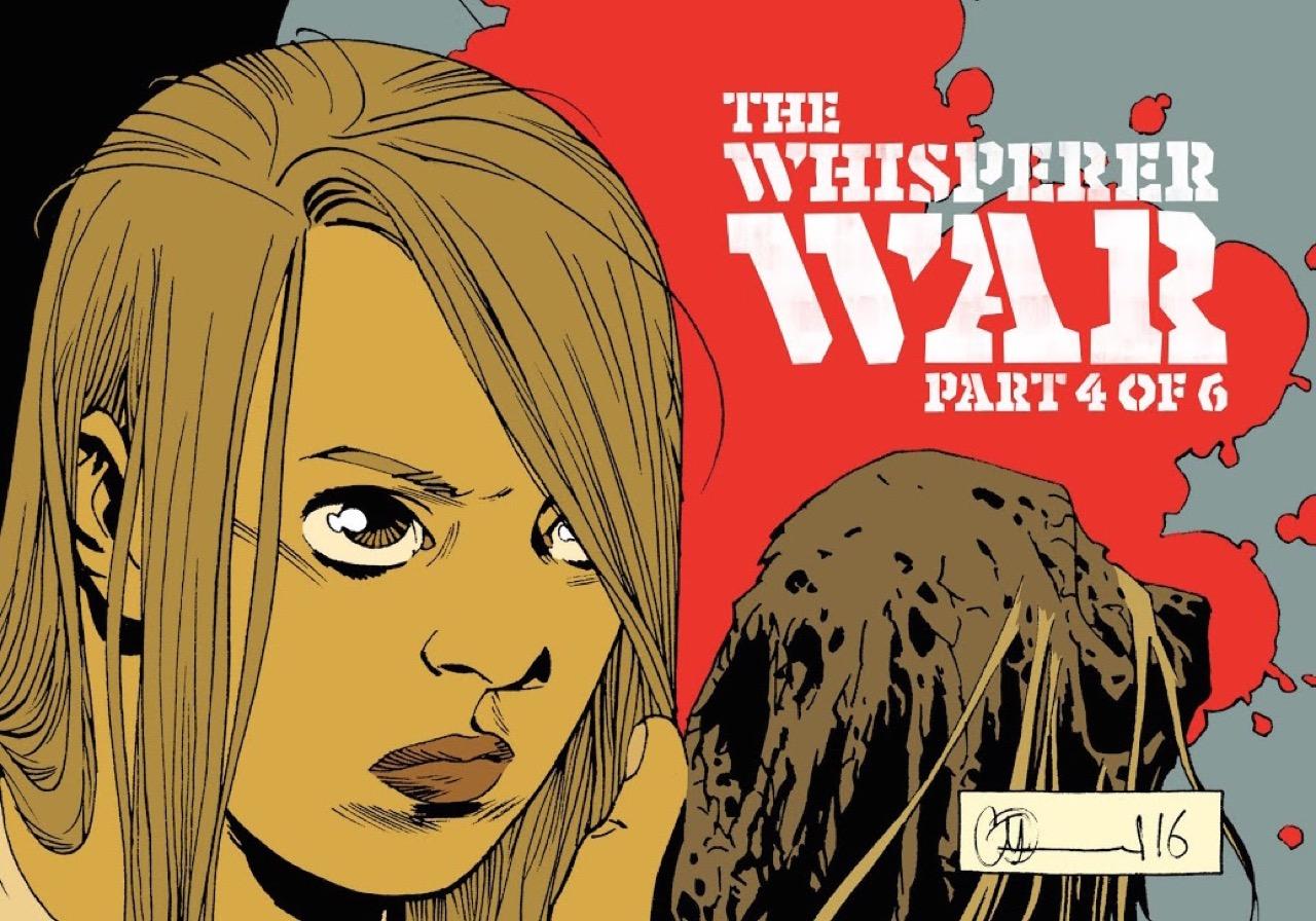 ウォーキングデッド コミック 160話 表紙のリディア