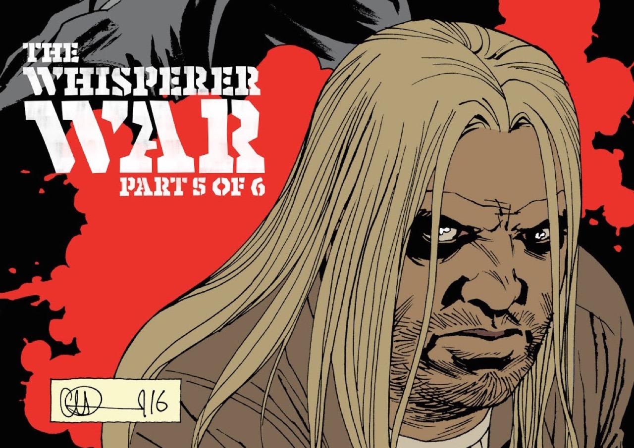 ウォーキングデッド コミック 161話 表紙のベータ