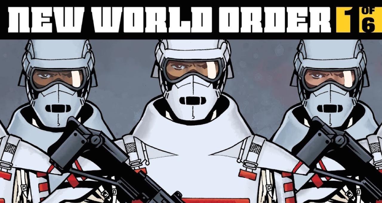 ウォーキングデッド コミック 175話表紙のコモンウェルスの兵士達