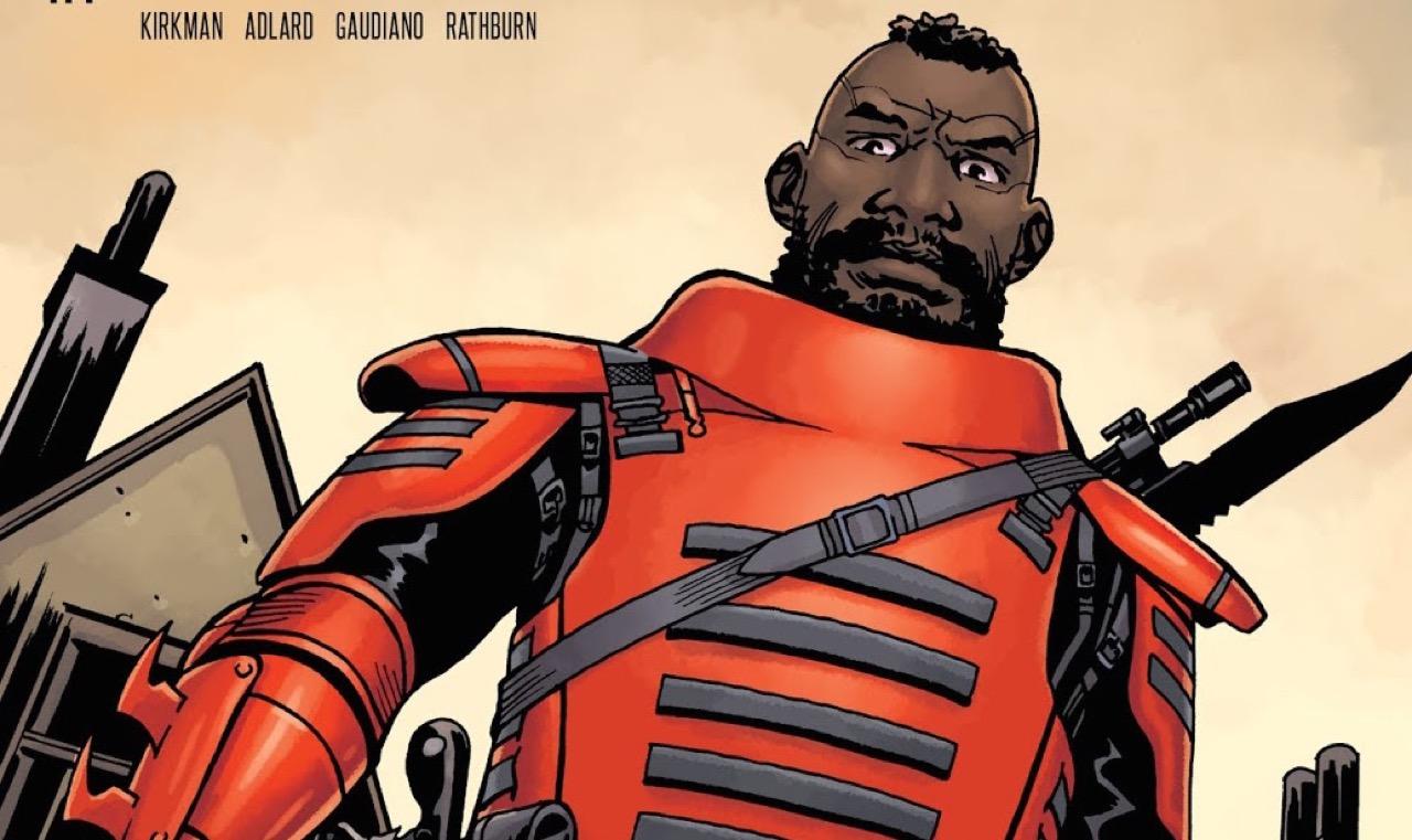 ウォーキングデッド コミック コモンウェルスのガード隊長 Mercer