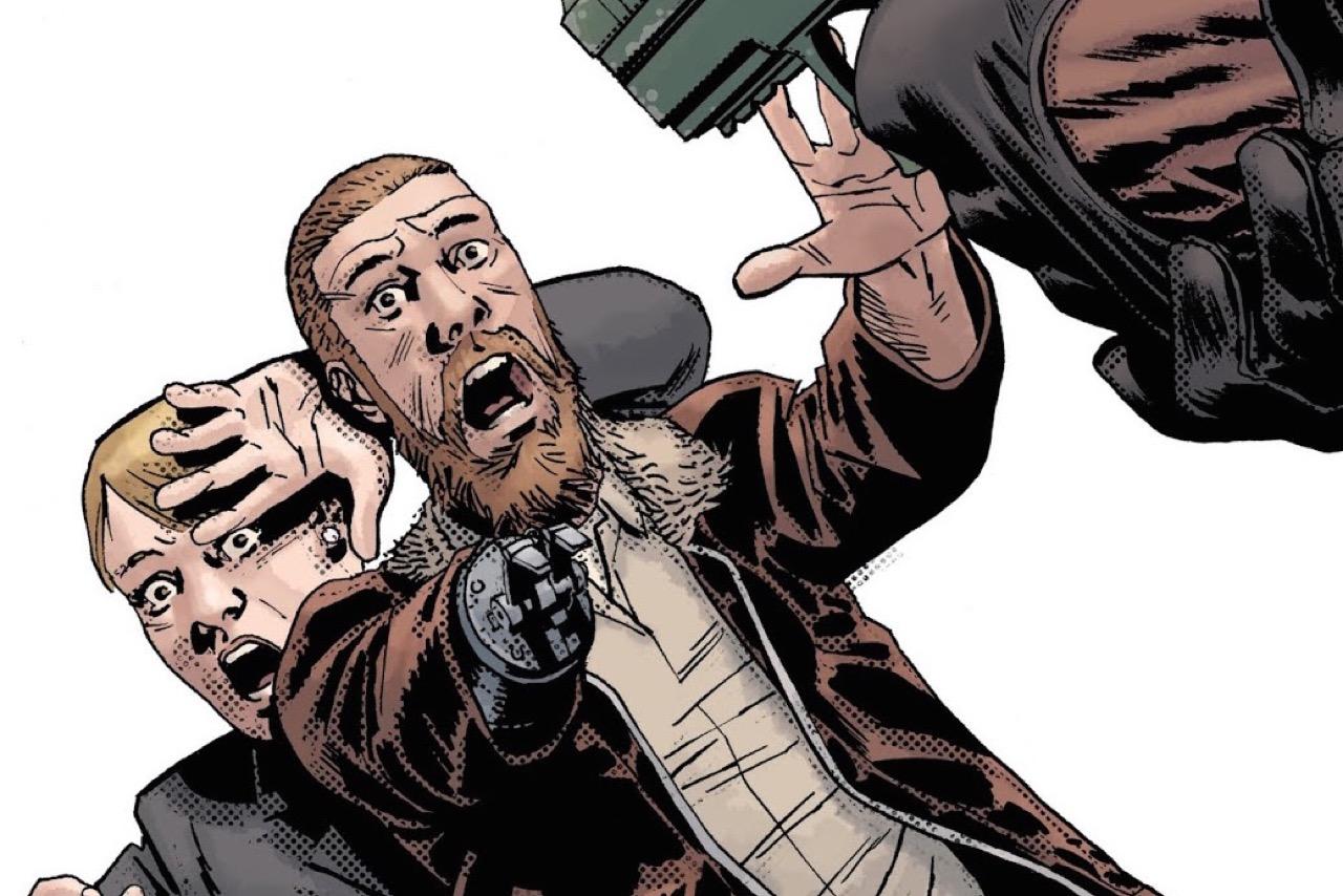 ウォーキングデッド コミック 186話 表紙