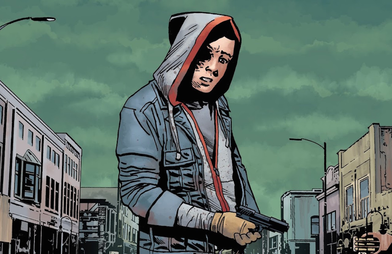 ウォーキングデッド コミック 192話 Aftermath 表紙のカール