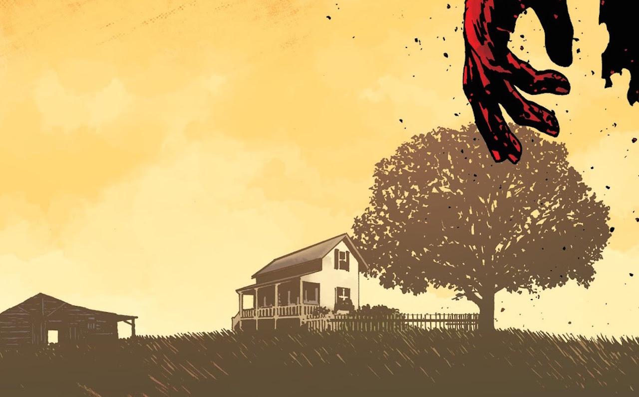 ウォーキングデッド コミック 193話 The Farm House 表紙